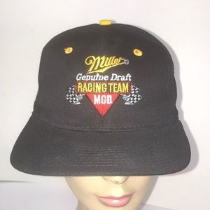 Vintage Deadstock Miller Lite  Racing Team Hat